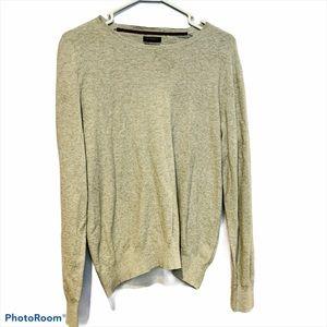 GUTTERIDGE Cashmere Blend Gray Sweater